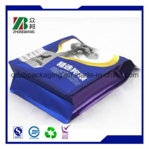 Manufacturer Pet Food Packaging 8 Side Sealed Flat Bottom Bag pictures & photos