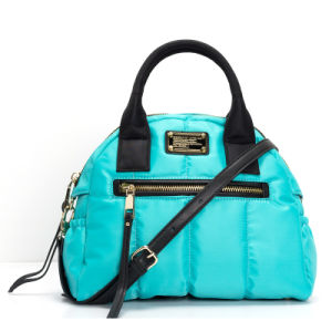 Classical Style Fashion Lady Nylon Quilted Tote Handbags