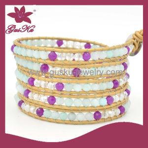 Handmade Beaded Bracelet (2015 Wvb-096) pictures & photos