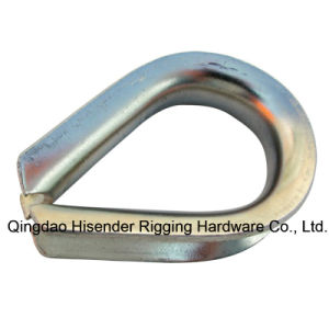 Hot DIP E. Galvanized Wire Rope Thimbles pictures & photos