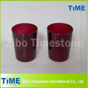 Red Glass Votive Candle Holders pictures & photos