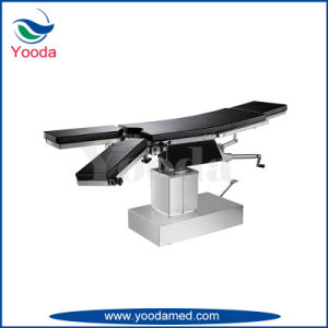 T Shape Hospital Manual Operating Table pictures & photos
