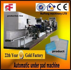 Full Servo Automatic Disposable Bed Pad (blue Pad) Machine (RF-BKB)