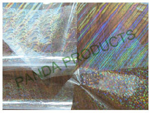 Laser Holographic Transparent PVC/ Pet/ OPP Film