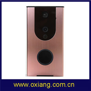 Home WiFi Doorbell Connect with Mobile Phone Smart Wireless PIR Night Vision Wi-Fi Video Doorbell pictures & photos