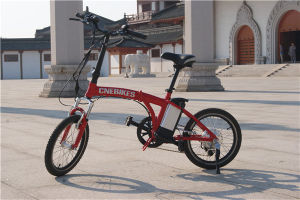 36V 250W Light Weight Foldable E Bike 20inch Mini Electric Bike for Sale pictures & photos