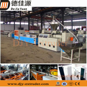 PVC Door Window Profile Extruder Machine Production Line of Sjz80/156