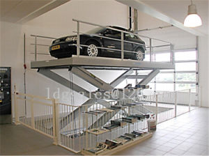 Scissor Hydraulic Car Lift (SJG2.5-4.5) pictures & photos