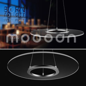 Modern UFO Aluminum Ultra Slim Clear Round Pendant Lamp with Remote Controller pictures & photos