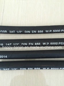 DIN En 853 100r2at Two Wire Braid Hydraulic Hose pictures & photos