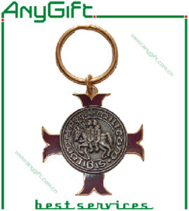 Chromium Plating Zinc Alloy Keyring Wih Customized Logo and Shape pictures & photos