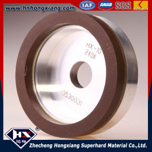 Bowl Resin Bond Diamond Grinding Wheel for Glass and Steel pictures & photos