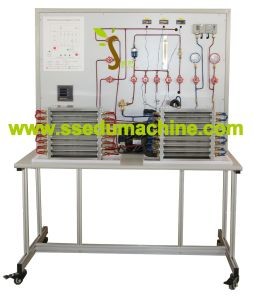 Air Conditioner Cooling Heating System Station Training Unit Inverter