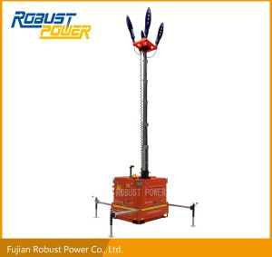 Compact Emergency Waterproof Air Cooled DC LED Lighting Tower pictures & photos