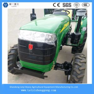 Chinese Agricultural Equipment 48HP 4WD Wheel Farm Agricultural Tractor pictures & photos