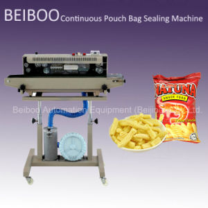 Gas Flushing Continuous Bag Sealing Machine (RS-980C) pictures & photos