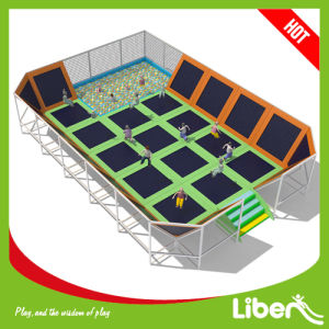ASTM Approved Huge Indoor Trampoline with Foam Pit pictures & photos