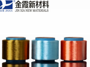 FDY Polyester Yarn 300d/96f Dope Dyed pictures & photos