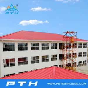 ISO 9001 Certificated Steel Structure for Hotel Project in Gabon pictures & photos