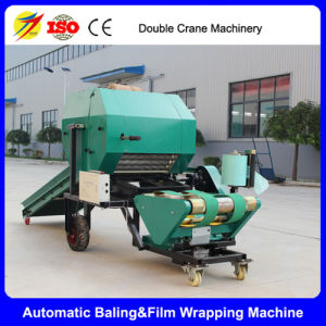 Hot Sale Automatic Silage Round Baler & Film Wrapper