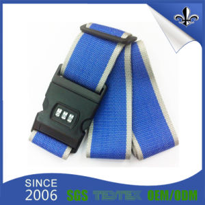 Promotional Custom Travel Top Quality Nylon Luggage Belt Strap pictures & photos