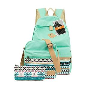 Hot Sale Fashion Leisure Backpack Canvas School Bag pictures & photos