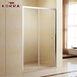 Aluminium Frame 5mm Glass Shower Enclosure with Sliding Door (K-333A) pictures & photos
