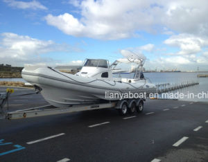 Liya 8.3m Hypalon Military Rigid Inflatable Boat Made in China pictures & photos
