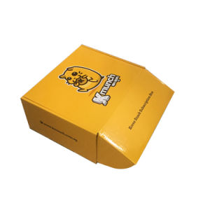 Color Printing White Corrugated Box for Postal Mailing Usage pictures & photos