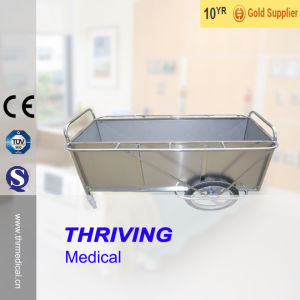 Medical Stainless Steel Dressing Delivery Trolley pictures & photos