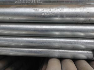 Galvanized ERW Carbon Steel Pipe 1.5inch Scaffolding Usage pictures & photos