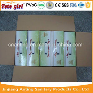 Cheapest Price 100%Cotton Breathable Surface Anion Sanitary Napkin Manufacturer in China pictures & photos