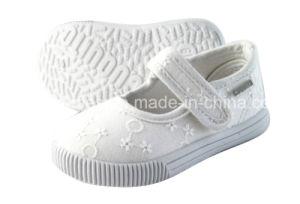 Latest Baby Shoes Injection Canvas Shoes Infant Shoes (LB009) pictures & photos