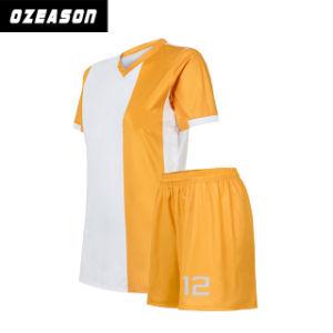 Crew Neck Heat Press High Quality Sportwear Soccer Jerseys Football Shirt pictures & photos
