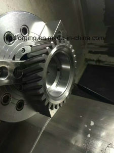 16mncr5 Forged Steel Spur Pinion Gears pictures & photos
