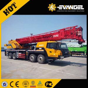 Sany 75ton Mobile Truck Crane Stc750 pictures & photos