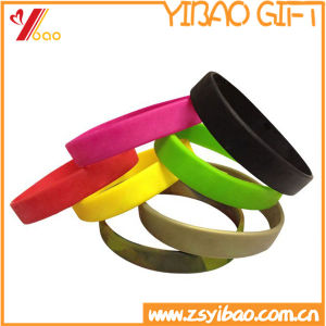 Customized Logo Rubber Hand Band/ Silicone Wristband/Bracelet pictures & photos