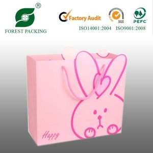Hand Made Color Print Paper Shopping Bags, Colorful Printing Bags pictures & photos