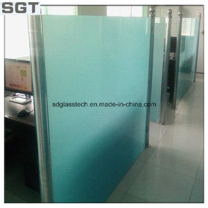 3mm-12mm Acid Etched/Frosted/Frosting Glass for Doors pictures & photos