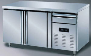 Commercial Stainless Steel 2 Door Prep Table Refrigerator Freezer (TG15L2) pictures & photos