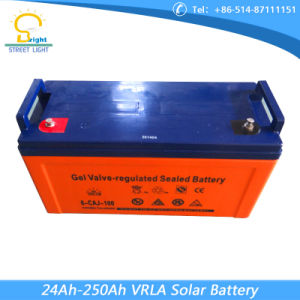 Deep Cycle Maintenance Free Solar Charger Battery Gelled Lead-Acid Battery pictures & photos