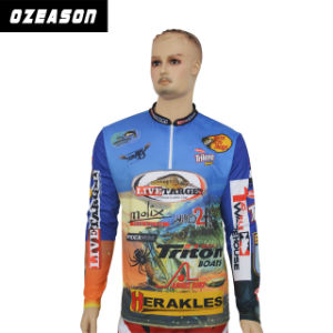 Wholesale Cheap OEM Custom Long Sleeve Subliamtion Fishing Shirt pictures & photos