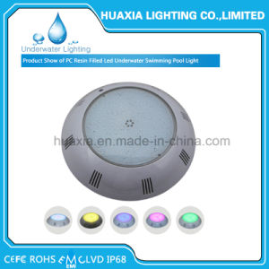 RGB 12volt LED Surface Mounted Swimming Pool Lamp Underwater Light pictures & photos