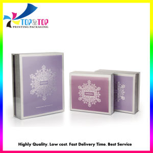 Transparent Pet Sleeve Rigid Paper Boxes for Gift Set pictures & photos