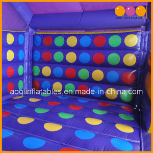 2017 Amazing Custom Inflatable Twister Game, Inflatable Games for Adults and Kids (AQ1657-5) pictures & photos