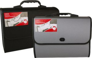 Office Supply A4 FC 26 Pockets Expanding File Bag pictures & photos