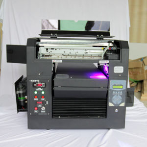 Cheap Solvent Plastic Card Name Printer Machine Print Board pictures & photos