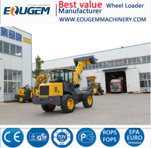 2 Ton T2000/Tl2000 Telescopic Boom Loader with Cummins pictures & photos