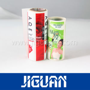 Custom Logo 4c Printing Clear Transparent Sticker pictures & photos