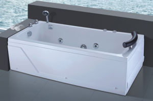 Factory Outlet Whirlpool Bathtub with Bubble Bath (544) pictures & photos